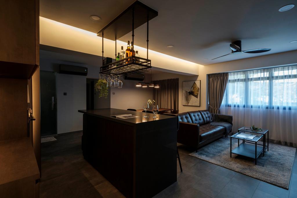 Modern, HDB, Dining Room, Cantonment Close, Interior Designer, Starry Homestead