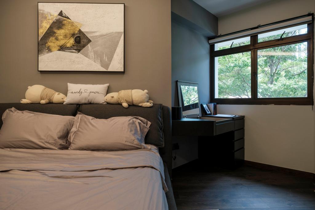 Modern, HDB, Bedroom, Cantonment Close, Interior Designer, Starry Homestead