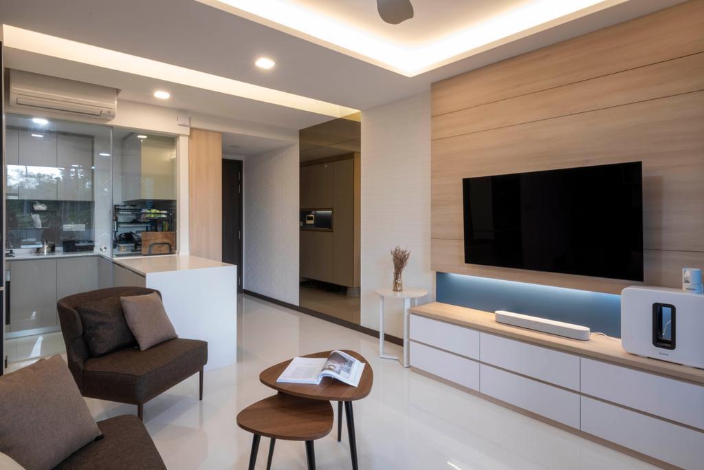 Contemporary, Condo, Living Room, Lake Grande, Interior Designer, Starry Homestead