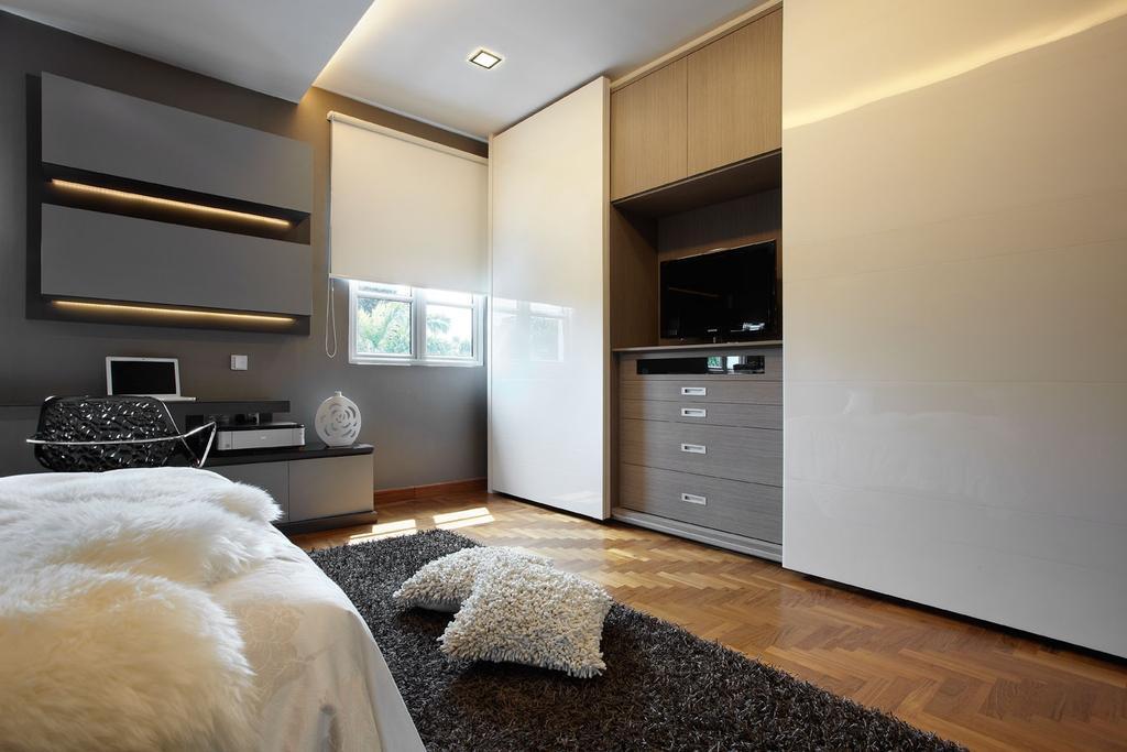 Modern, Landed, Bedroom, Kew Drive, Interior Designer, IB Interior