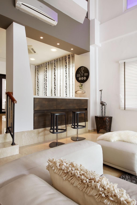 Modern, Landed, Living Room, Kew Drive, Interior Designer, IB Interior