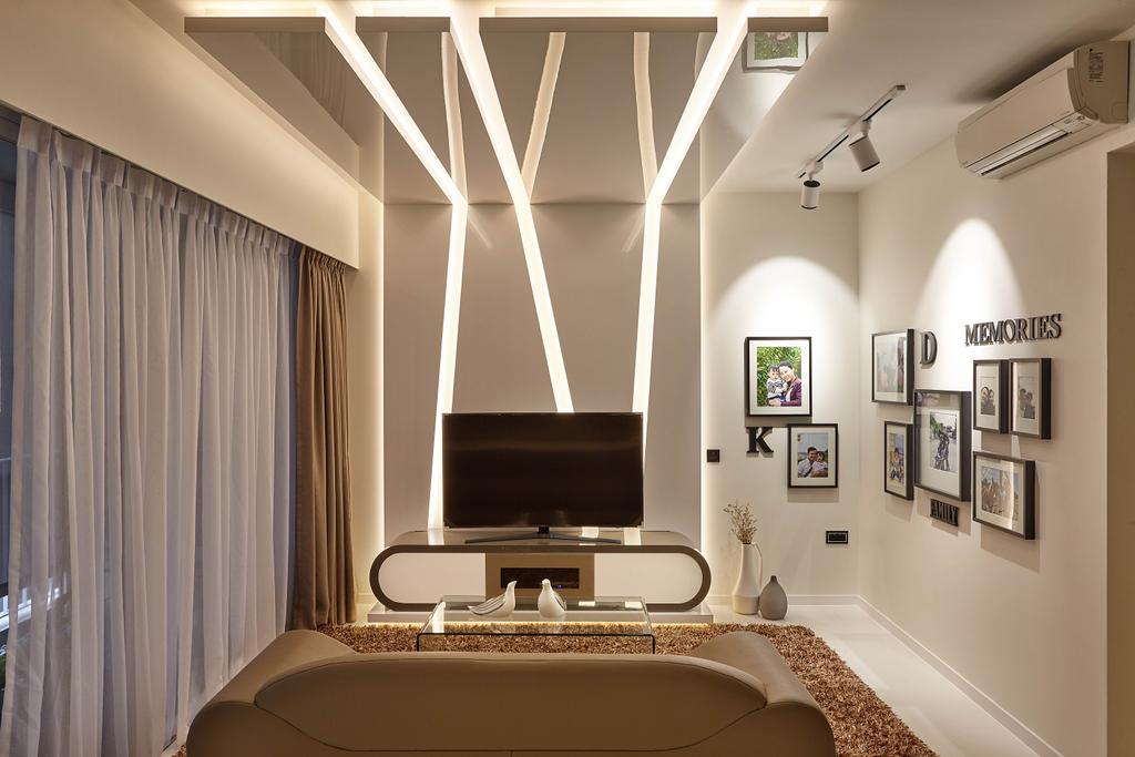 Modern, Condo, Living Room, Ecopolitan, Interior Designer, IB Interior