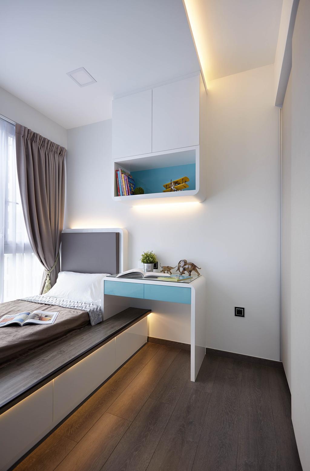 Modern, Condo, Ecopolitan, Interior Designer, IB Interior