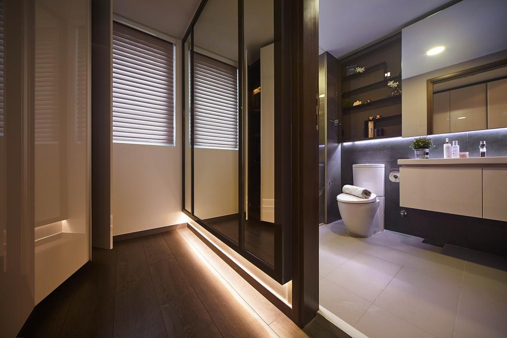 Modern, Condo, Bathroom, Ecopolitan, Interior Designer, IB Interior