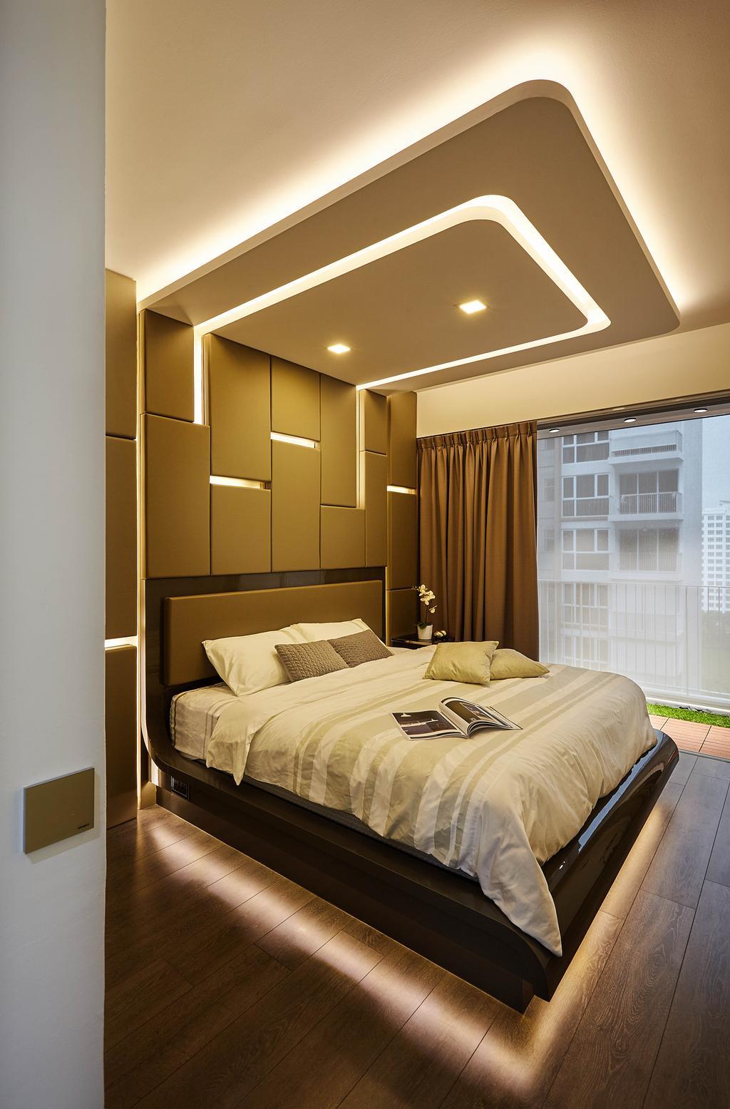 Modern, Condo, Bedroom, Ecopolitan, Interior Designer, IB Interior