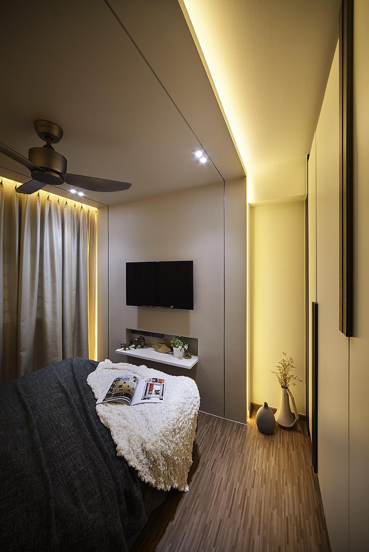 Modern, HDB, Bedroom, Keat Hong Close, Interior Designer, IB Interior