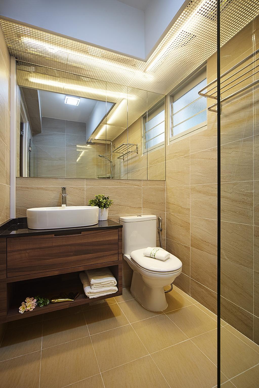 Modern, HDB, Bathroom, Keat Hong Close, Interior Designer, IB Interior