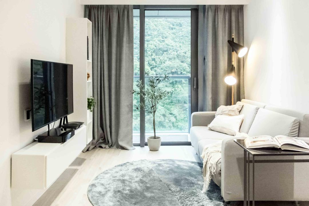 Lime Gala Living Room Interior Design 21