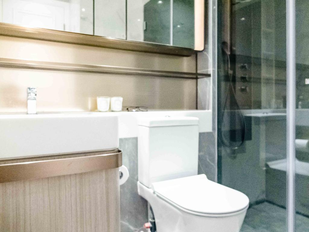 摩登, 私家樓, 浴室, Lime Gala, 室內設計師, B.R.G. Interior Design