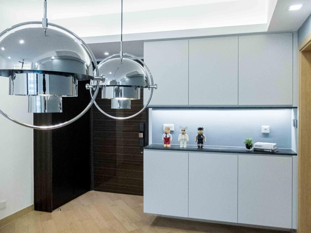 摩登, 私家樓, 客廳, Providence Bay, 室內設計師, B.R.G. Interior Design