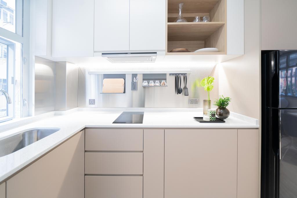 簡約, 私家樓, 廚房, Amoy Street, 室內設計師, B.R.G. Interior Design