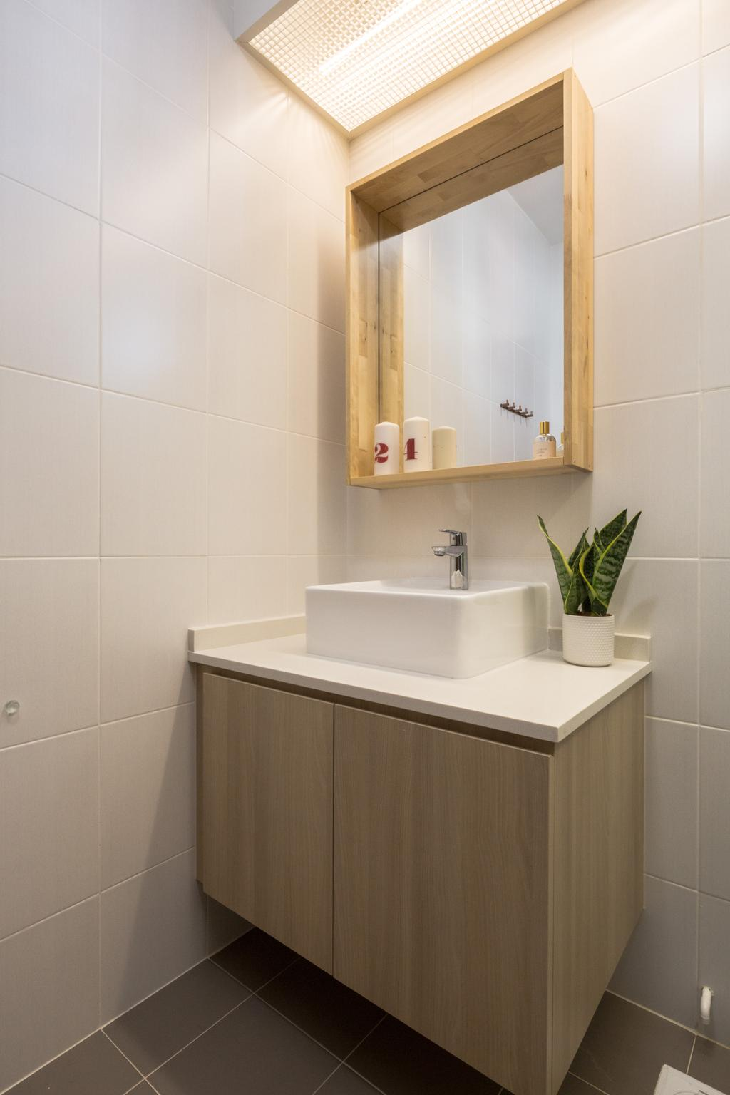 Scandinavian, HDB, Bathroom, Bukit Batok West Avenue 6, Interior Designer, Haydn Studio