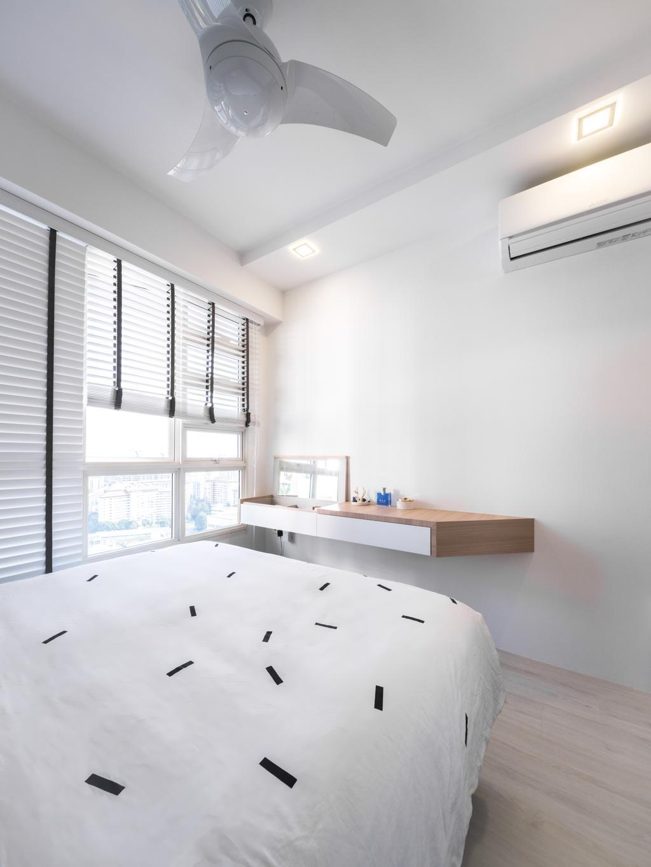 Scandinavian, HDB, Bedroom, Bukit Batok West Avenue 6, Interior Designer, Haydn Studio
