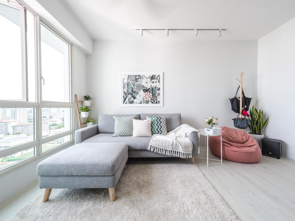 Scandinavian, HDB, Living Room, Bukit Batok West Avenue 6, Interior Designer, Haydn Studio