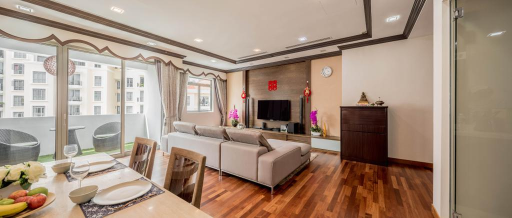Contemporary, Condo, Living Room, Aspen Heights, Interior Designer, Haydn Studio