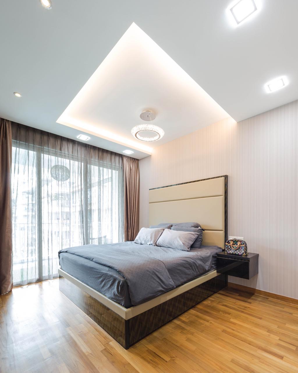 Contemporary, Condo, Bedroom, Caspian, Interior Designer, Haydn Studio