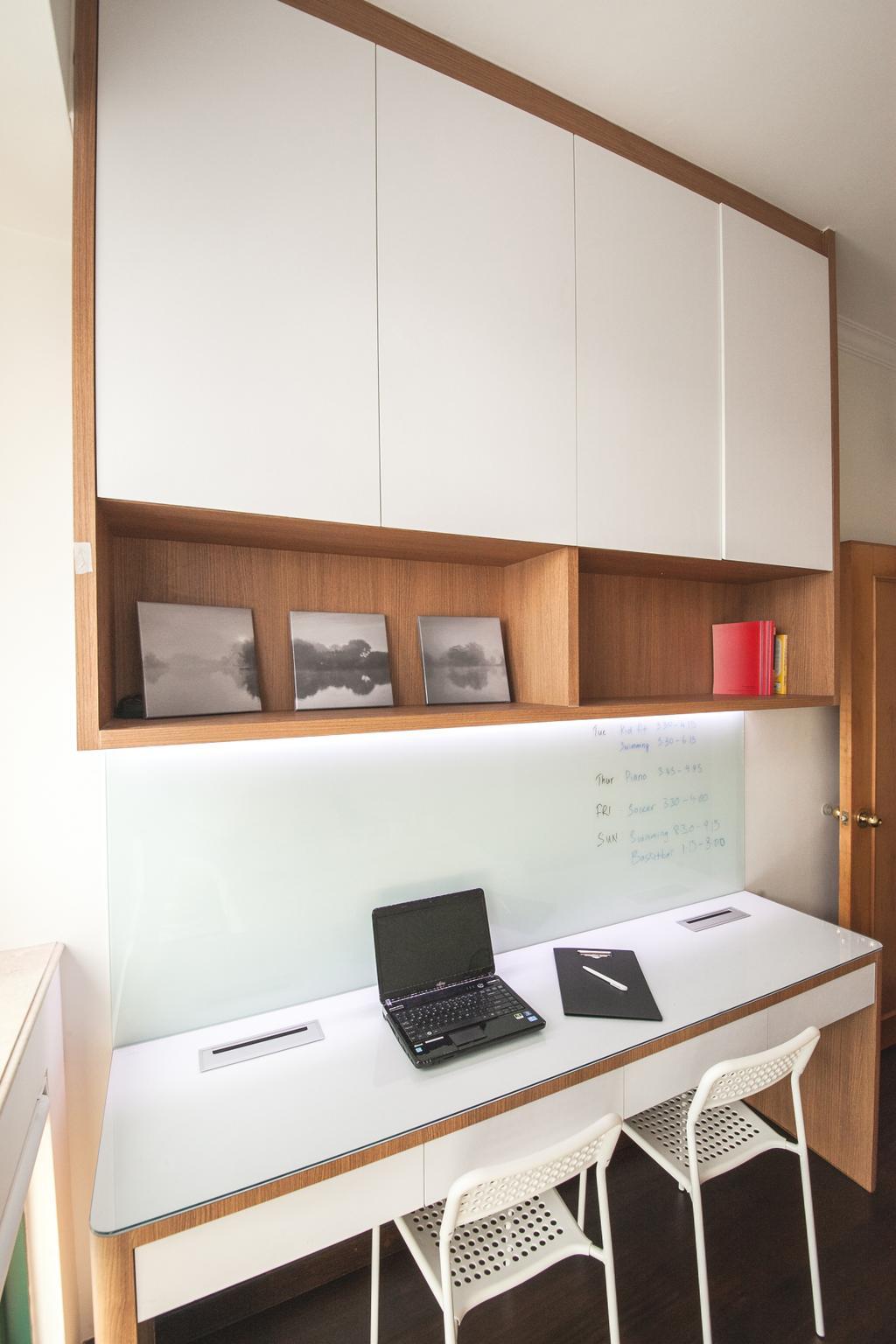Contemporary, Condo, Study, Thomson 800, Interior Designer, Haydn Studio