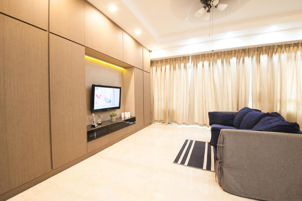 Contemporary, Condo, Living Room, Thomson 800, Interior Designer, Haydn Studio
