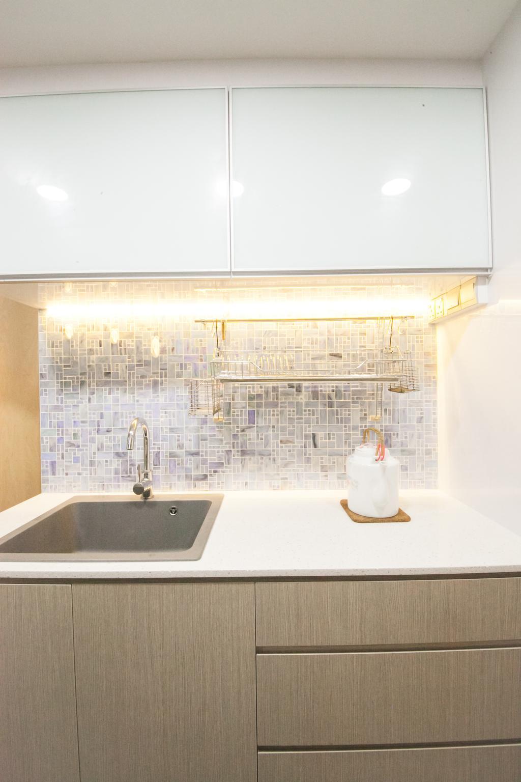 Contemporary, Condo, Kitchen, Thomson 800, Interior Designer, Haydn Studio
