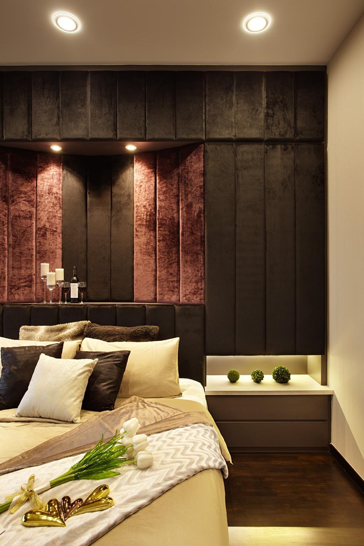 Contemporary, Condo, Bedroom, The Wharf Residence, Interior Designer, I-Bridge Design