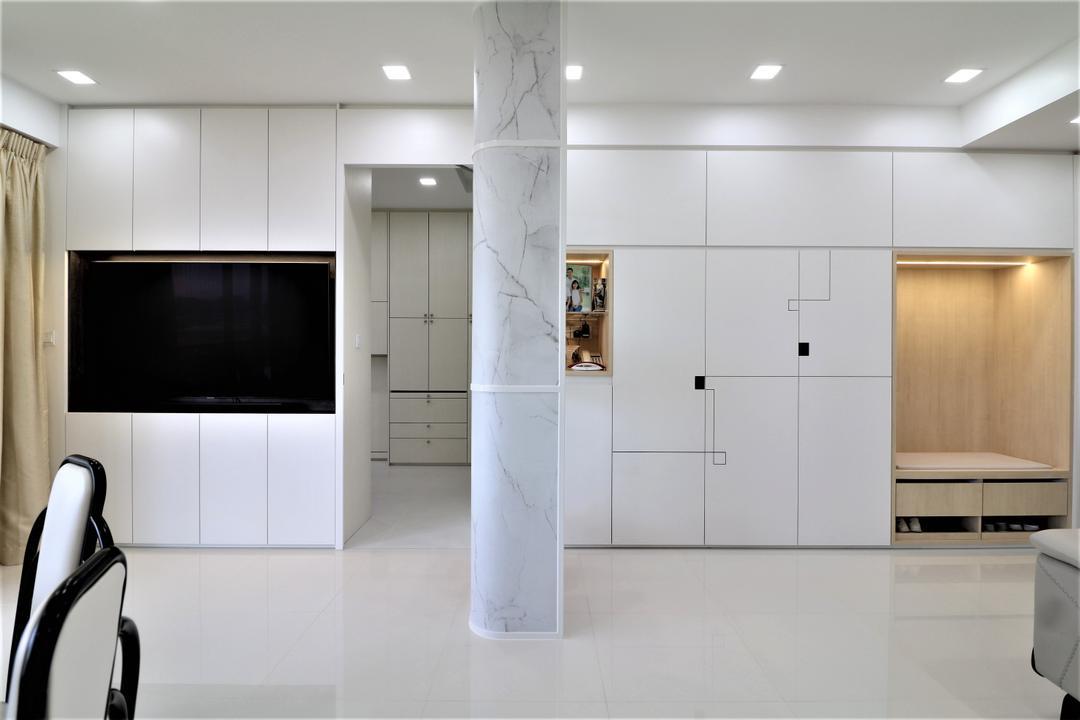 Waterbank @ Dakota Living Room Interior Design 16