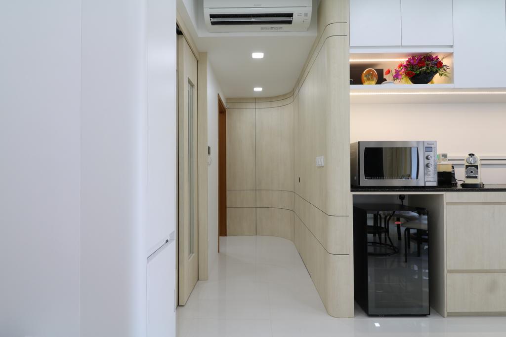 HDB, Kitchen, Waterbank @ Dakota, Interior Designer, E+e Design & Build
