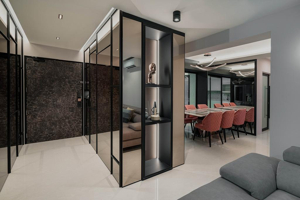 Contemporary, HDB, Tampines North Drive 1, Interior Designer, ARK-hitecture