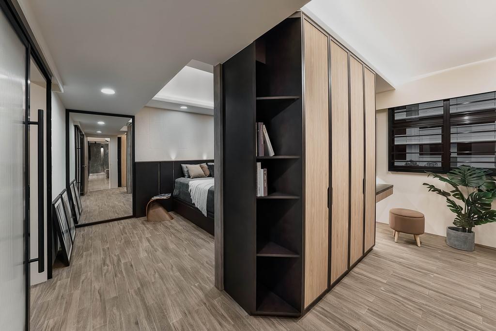 Contemporary, HDB, Bedroom, Tampines North Drive 1, Interior Designer, ARK-hitecture