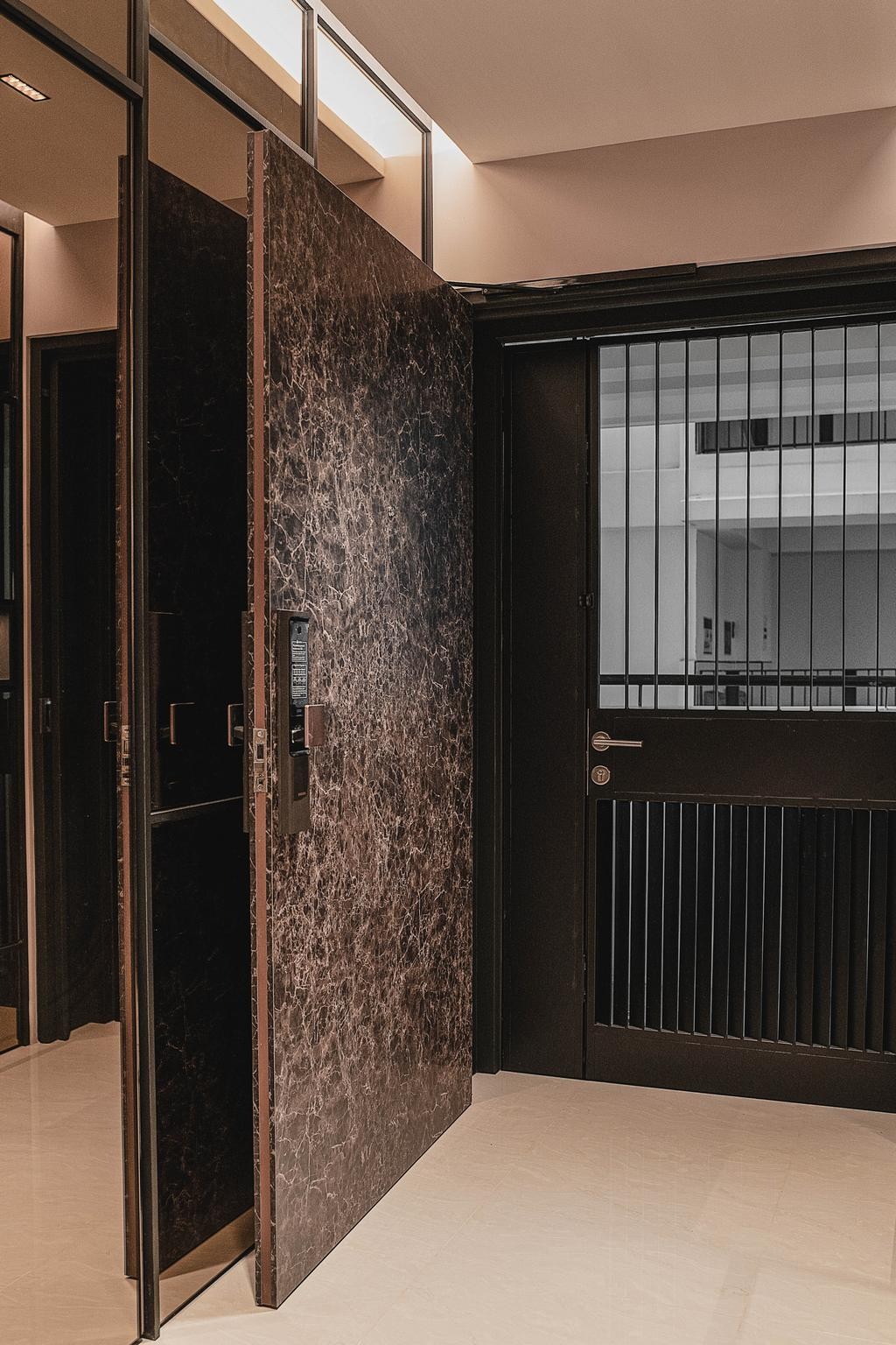 Contemporary, HDB, Living Room, Tampines North Drive 1, Interior Designer, ARK-hitecture