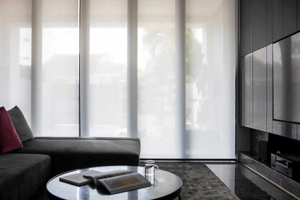 Contemporary, Landed, Living Room, Jalan Sankam, Interior Designer, Van Hus Interior Design