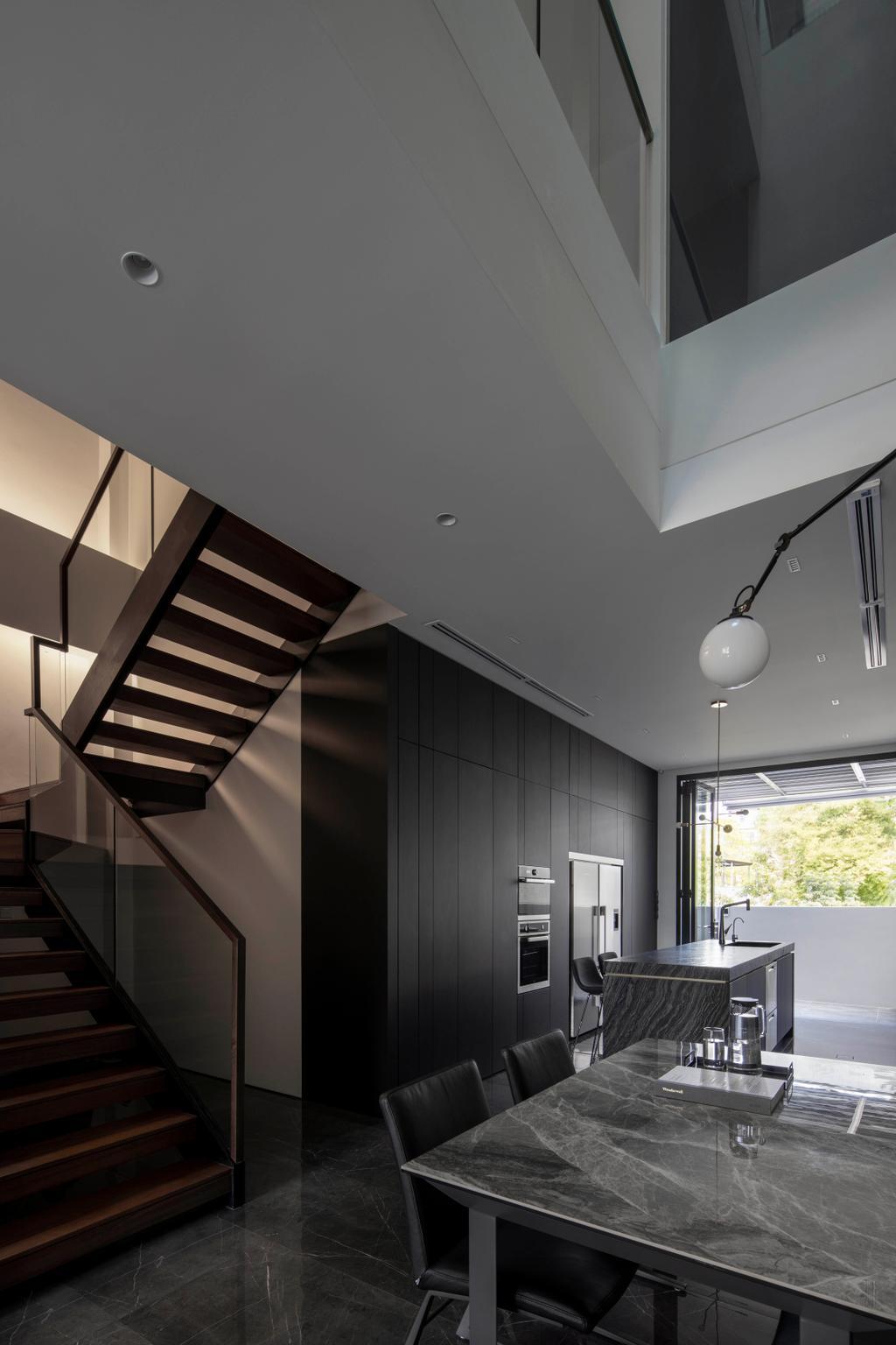Contemporary, Landed, Dining Room, Jalan Sankam, Interior Designer, Van Hus Interior Design