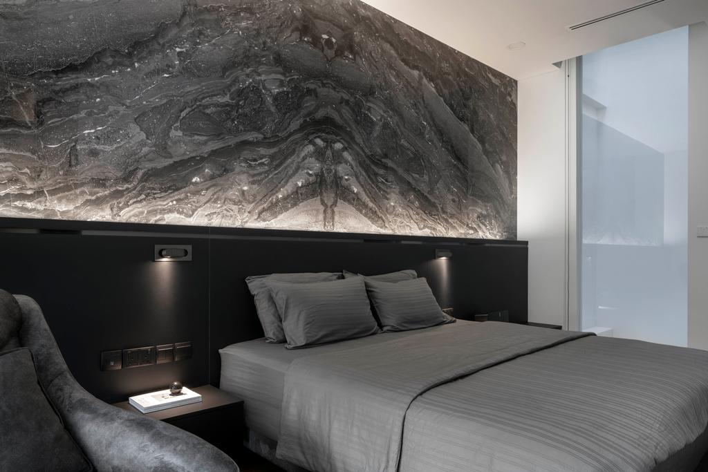 Contemporary, Landed, Bedroom, Jalan Sankam, Interior Designer, Van Hus Interior Design