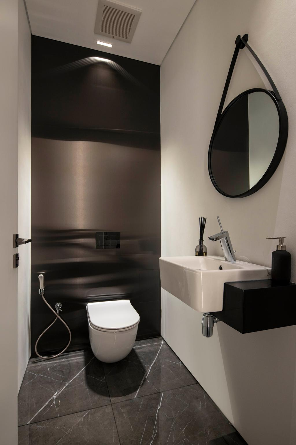 Contemporary, Landed, Bathroom, Jalan Sankam, Interior Designer, Van Hus Interior Design