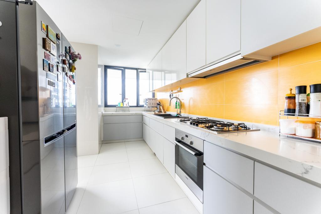 Scandinavian, Condo, Kitchen, The Interlace, Interior Designer, Luova Project Services