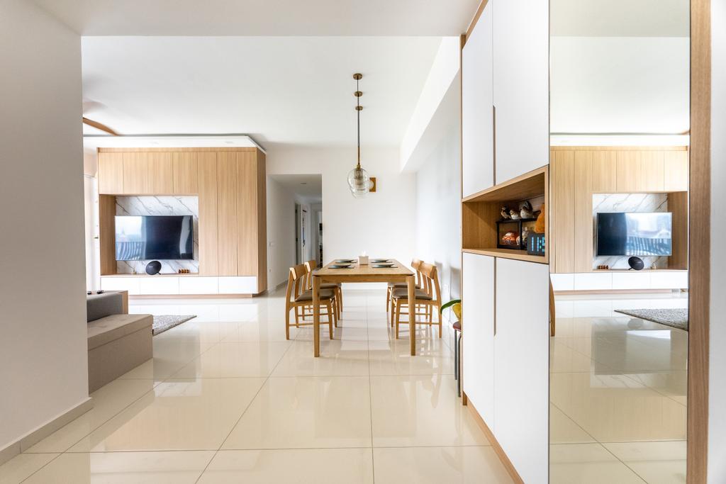 Scandinavian, Condo, Dining Room, The Interlace, Interior Designer, Luova Project Services