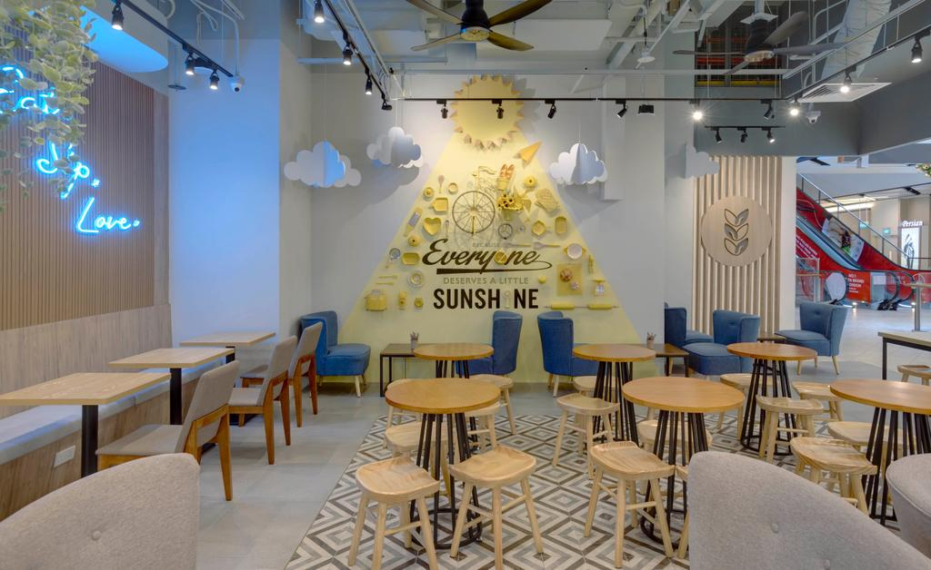 Joe & Dough @ Paya Lebar Quarter, Commercial, Interior Designer, Liid Studio, Contemporary, Eclectic