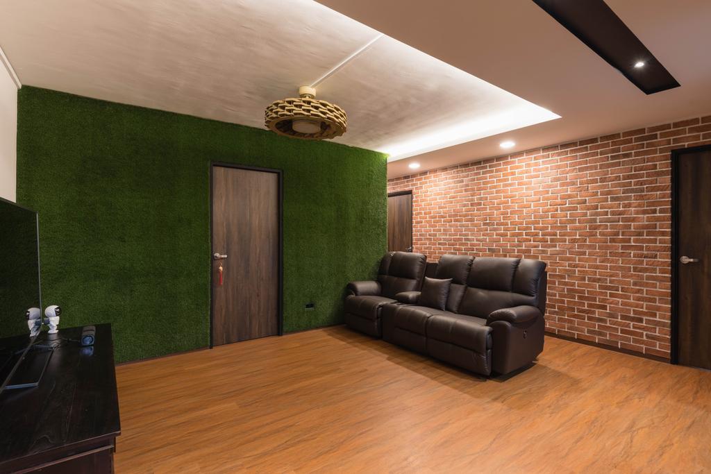 Contemporary, HDB, Living Room, Choa Chu Kang Street 62, Interior Designer, Swiss Interior Design