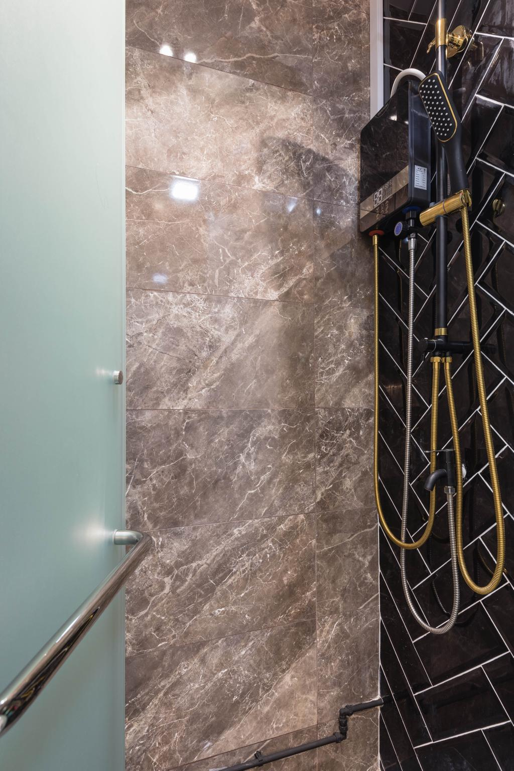 Contemporary, HDB, Bathroom, Choa Chu Kang Street 62, Interior Designer, Swiss Interior Design