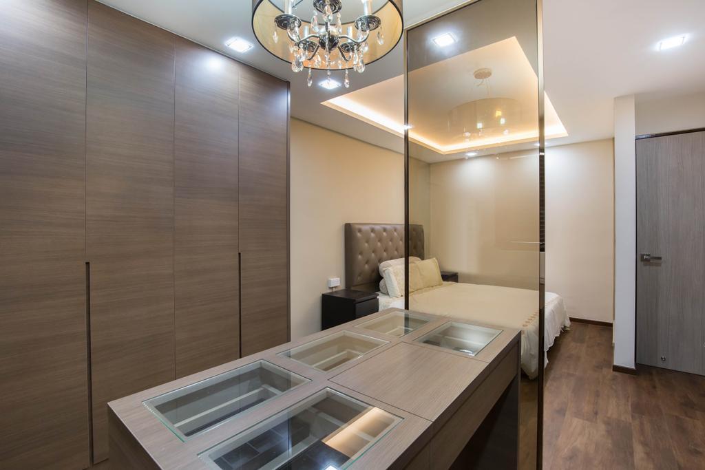 Eclectic, HDB, Bedroom, Tampines Street 42, Interior Designer, U-Home Interior Design