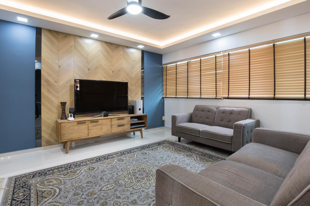 Eclectic, HDB, Tampines Street 42, Interior Designer, U-Home Interior Design