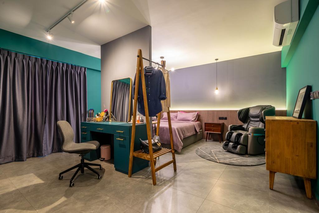 Modern, HDB, Bedroom, Alkaff Crescent, Interior Designer, Design 4 Space