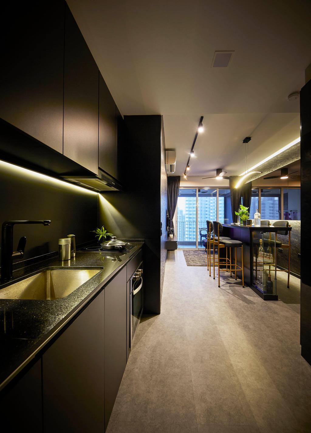 Condo, Kitchen, High Park Residences, Interior Designer, i-Chapter