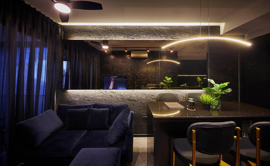 Condo, Living Room, High Park Residences, Interior Designer, i-Chapter