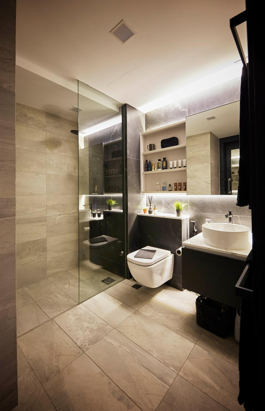 Condo, Bathroom, High Park Residences, Interior Designer, i-Chapter