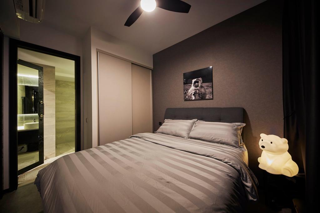 Condo, Bedroom, High Park Residences, Interior Designer, i-Chapter