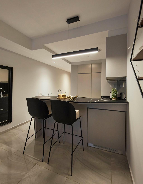Contemporary, Condo, Dining Room, High Park Residences, Interior Designer, i-Chapter