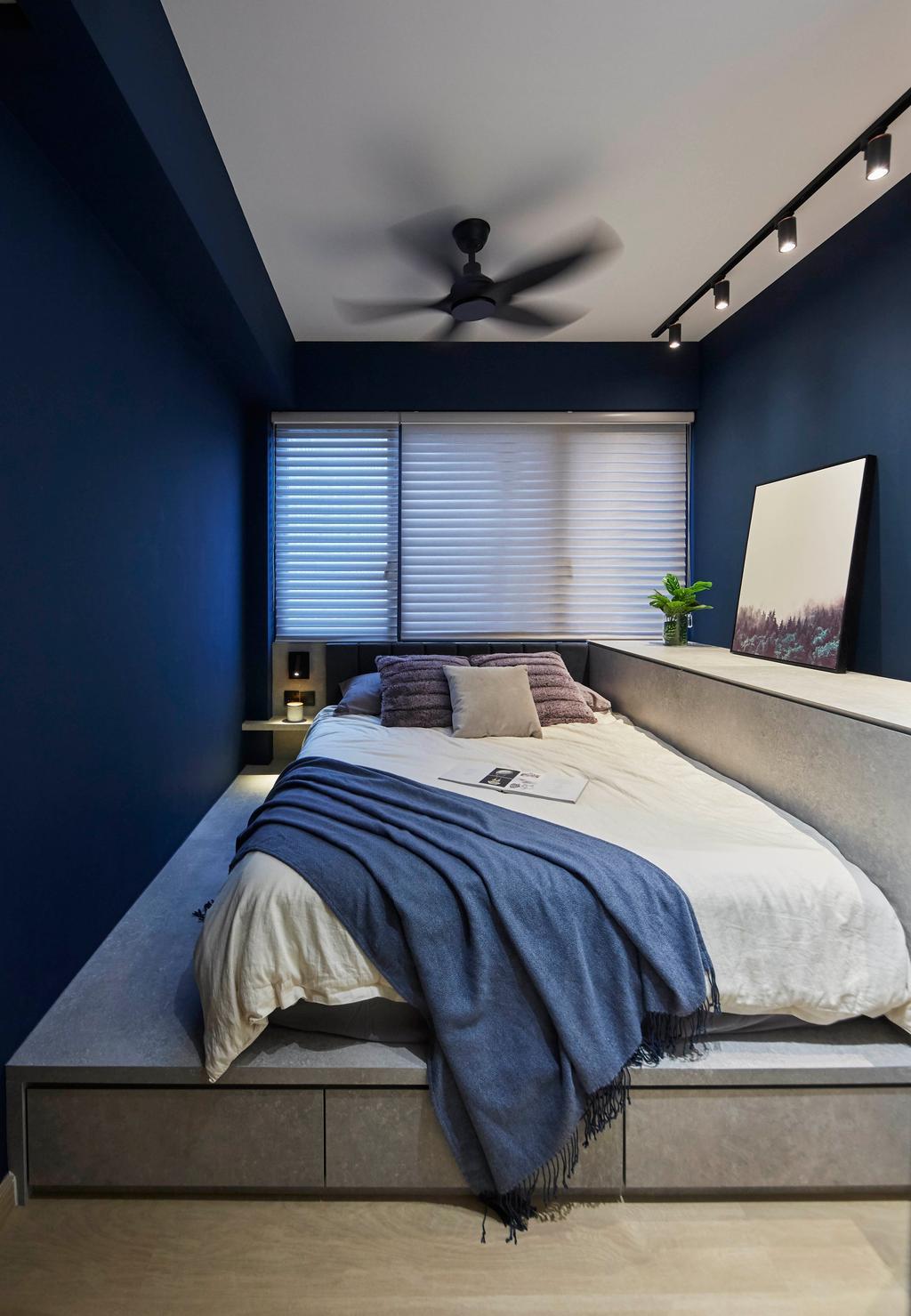 Contemporary, Condo, Bedroom, High Park Residences, Interior Designer, i-Chapter