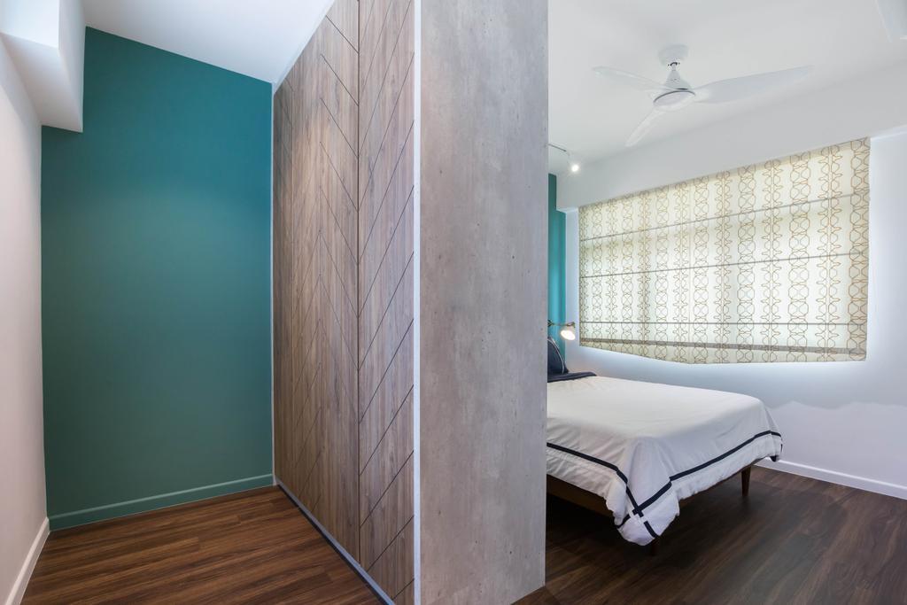 Modern, HDB, Bedroom, Buangkok Crescent, Interior Designer, Inizio Atelier, Contemporary
