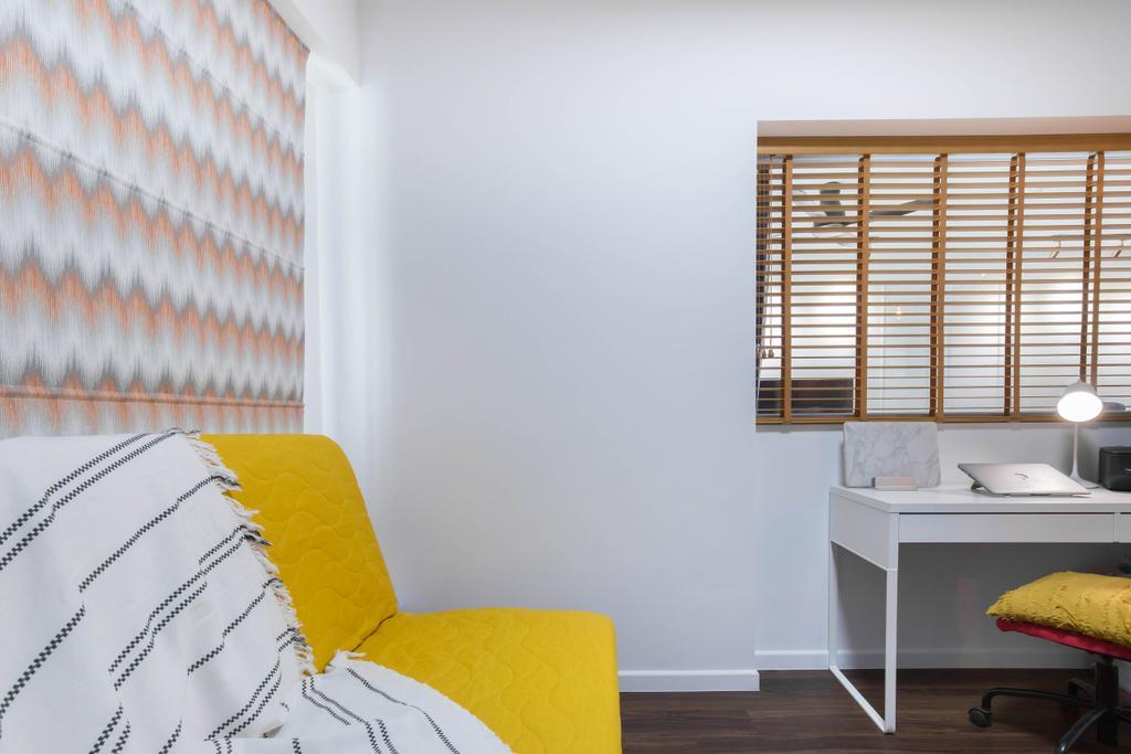 Modern, HDB, Study, Buangkok Crescent, Interior Designer, Inizio Atelier, Contemporary