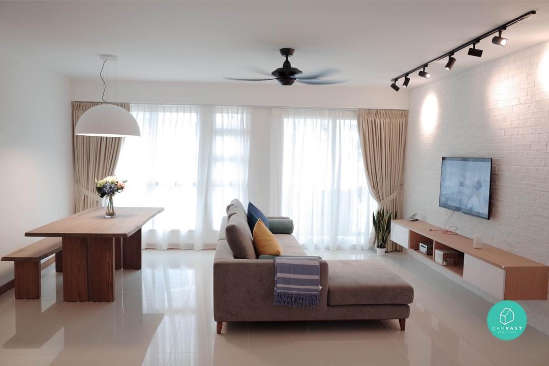 Home Interiors Trending on Qanvast - Minimalist Theme